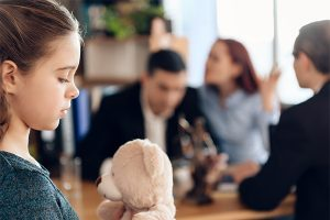 Situations that are considered for child custody and visitation